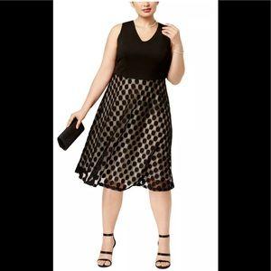 Formal Dress Plus Size 20W Special Occ Black NEW